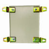 Terminal Box Wall Mount Bracket for model CT151512 Polyester Powder Coated RAL7032 Beige Colour
