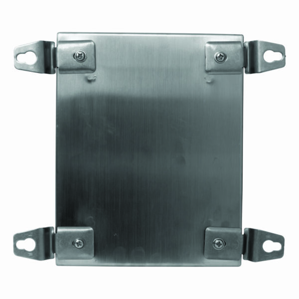 Terminal Box Wall Mount Bracket for model CTX151512 Stainless Steel 304 Hairline Finished (Exterior)