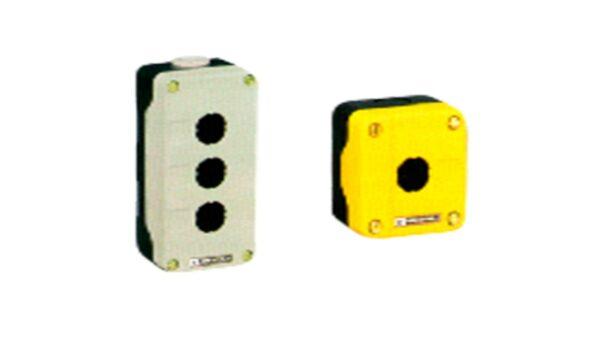 EMPTY CONTROL STATION ENCLOSURES, PLASTIC & METAL IP65
