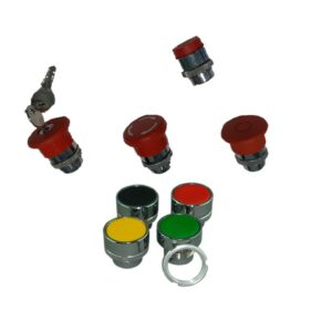 OPERATING HEADS FOR CONTROL STATION, METAL
