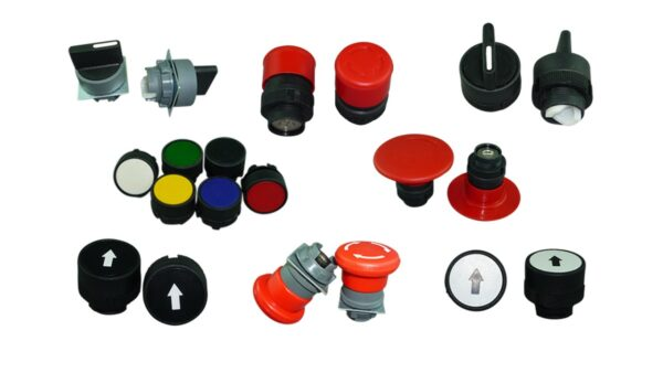 OPERATING HEADS FOR CONTROL STATION, PLASTIC