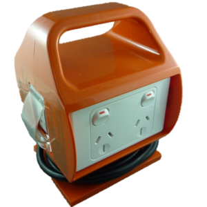 Portable Power Box range from Single 15Amp to Double 10Amp and 15Amp